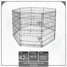 "42"" Outdoor Fence 8 Panel Pet Playpen"