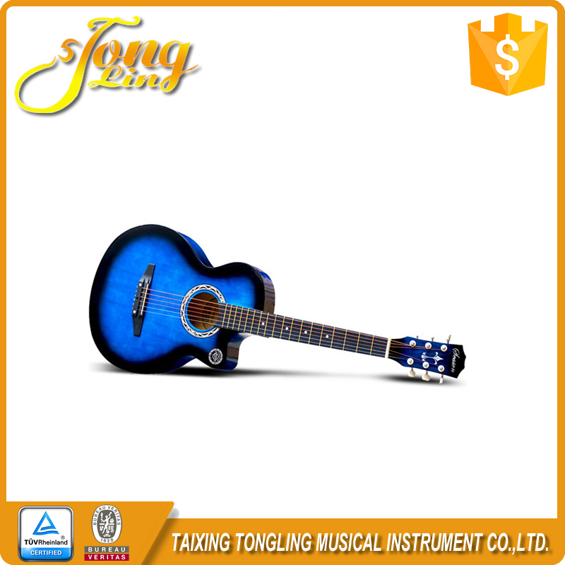 The Handmade Professional Cheap Prices Acoustic Guitar Musical Instrument Wholesale TL-0029