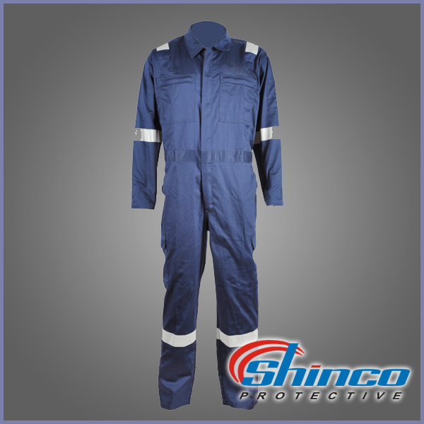 Wholesale one piece factory fireproof used work clothes