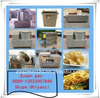 french fries making plant 0086-13523507946/snack food machine