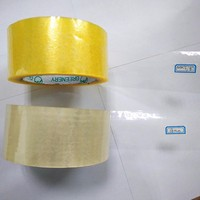 Single Sided Adhesive Side and BOPP Material opp tape