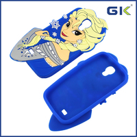 [GGIT] Lovely Snow Queen Design Silicone Case For Samsung Galaxy S4 Cover