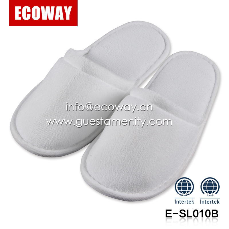 hotel bedroom slippers for kids children cotton anti-slip hotel slipper