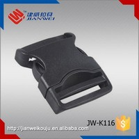 Wholesale 38mm plastic belt buckle side release buckles clips for backpack JW-K116