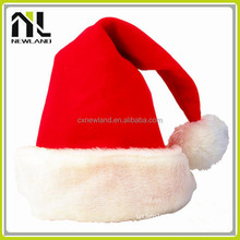 100% Polyester Felt Hot selling Santa Caps dancing christmas hat decoration