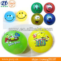 "Plastic toy balls,PVC inflatable balls,PVC hollow balls 8"" 9"" 6"""