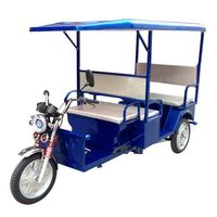 closed motor tricycle three wheeler auto rickshaw with CE certificate