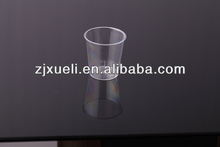 small plastic sample cups
