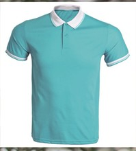 Cotton/Polyester.Short Sleeved T-shirt/Polo Shirt Couple Work Uniforms,Balanced With <strong>Color</strong>.