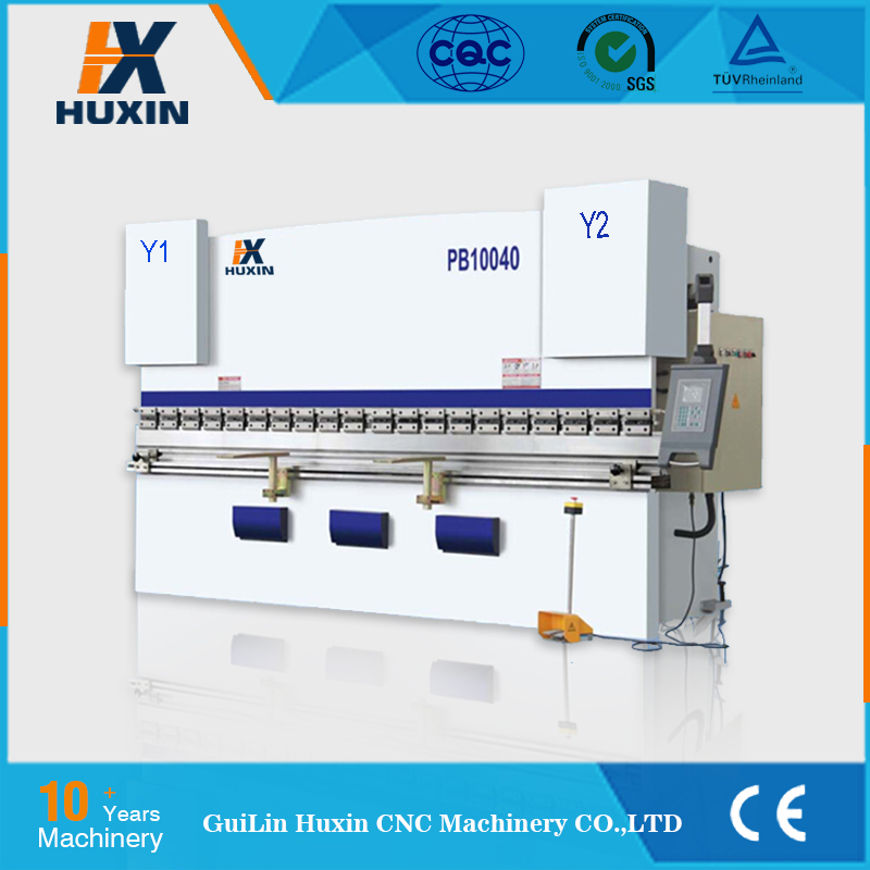 PR series 200T / 3200 hot sale CNC press brake in USA , press brake for sheet metal bending