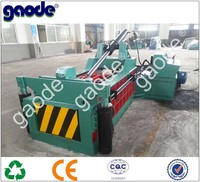 CE Qualified Forward Push Out Hydraulic Scrap Metal Baling Machine