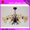 best price 2013 light yellow flower good quality chandelier