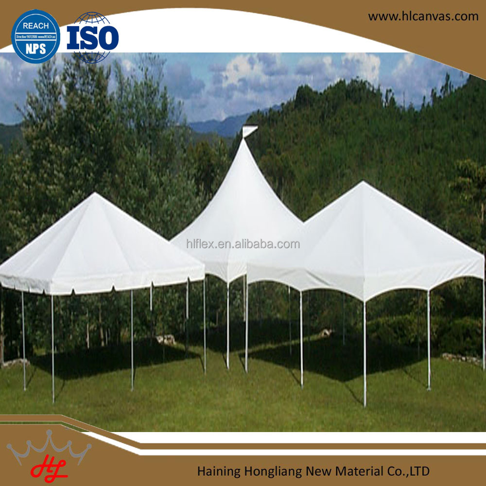 polyester taffeta fabric pvc tarpaulin stocklot for canopy tent outdoor