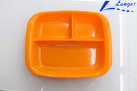 2016 New Product Silicone Kids Bowl Portable Factory Supply Baby Silicone Plate