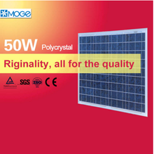 Moge polycrystal 50w pv solar cell panel