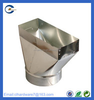 Direct Factory custom square hvac duct from alibaba china
