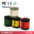 2017 Round shape silicone waterproof bluetooth speaker with hook