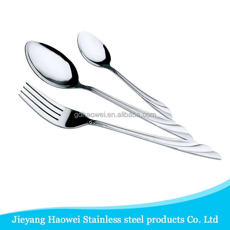 2016 new design international spoon fork silver cutlery company