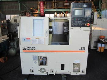 Japan CNC Lathe Washino J3 excellent condition!!