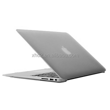 Dropshipping 2017 promotion products Frosted Hard Plastic Protective Case for Macbook Air 13.3 inch(Transparent)