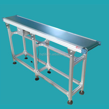 2 meter long portable belt conveyor, movable PVC belt conveyor
