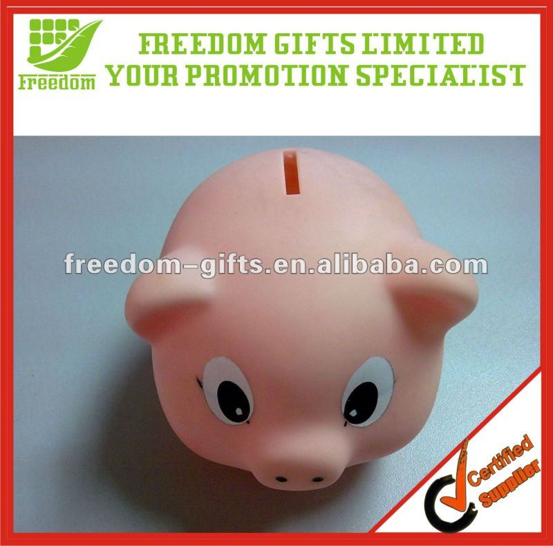 Promotional Cute Plastic Piggy Bank
