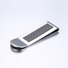 Wholesale Stainless Steel Magnetic wallet money clip , leather wallet metal money clip card holder