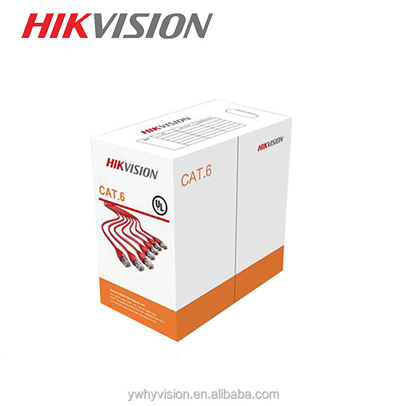 Hikvision CCTV CAT.5E <strong>U</strong>/UTP 4Pairs cable-category 6- PVC