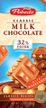 milk chocolate with haselnuts 32% cocoa
