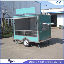 JX-FS250 Jiexian hot selling mobile small box semi food truck for sale with CE qualified