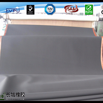 Black industrial insertion rubber sheet SBR Natural Nitrile EPDM NEOPRENE FKM silicone material