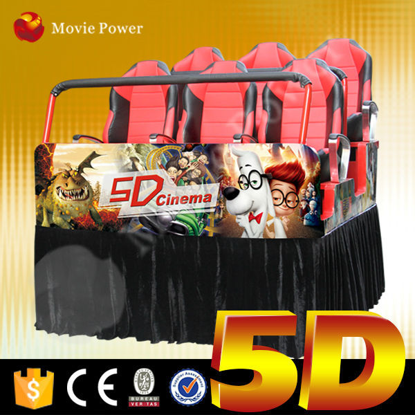 Seat move according to film story 5d cinema and equipment