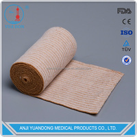Strong elastic bandage cotton with CE,ISO,FDA