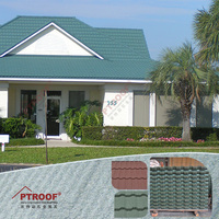Construction material - versatile stone coated metal roof tile with good quality