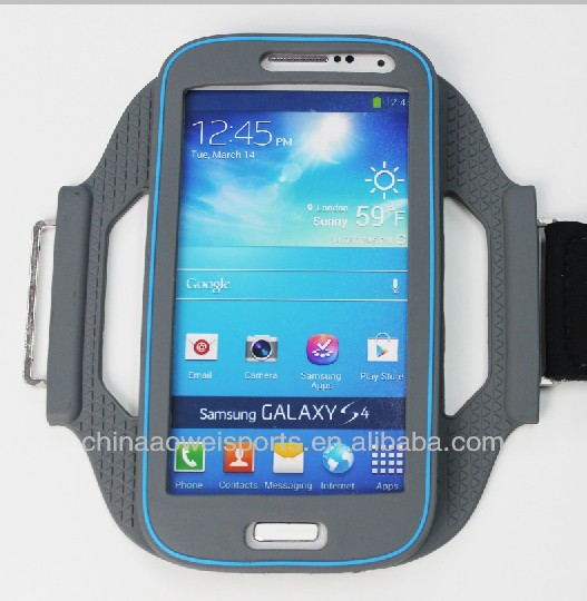 2014 silicone armband for iphone 5 case