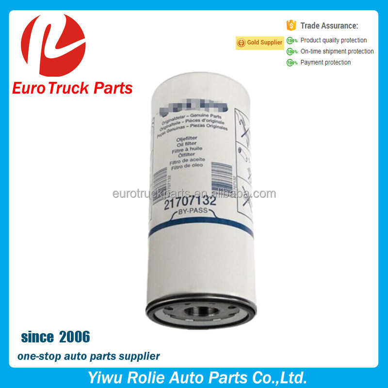 volvo OEM 21707133 20709459 20539275 21707136 4787362 Heavy duty truck spare parts volvo Oil Filter on sale