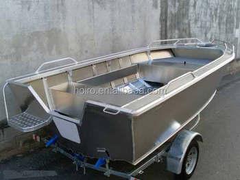 All welded portable aluminum fishing boat buy all welded for Portable fishing boat