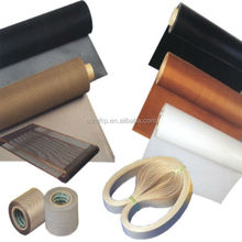 Glass fiber with PTFE coating