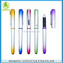 China hot office stationery rainbow gel ink pens