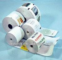 high quality thermal paper roll for cashier or ATM machines plain or with 1-8 colors printing