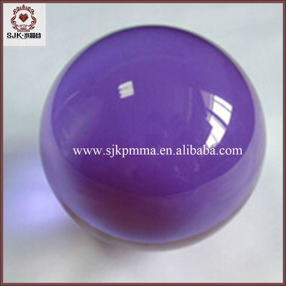 Colored Clear Plastic Acrylic Hollow Balls