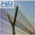 Electric Galvanized triangular bending wire mesh fence/Triangle Fence