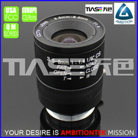 1/3 format 3.5-8mm F1.4 home security box manual iris camera lens
