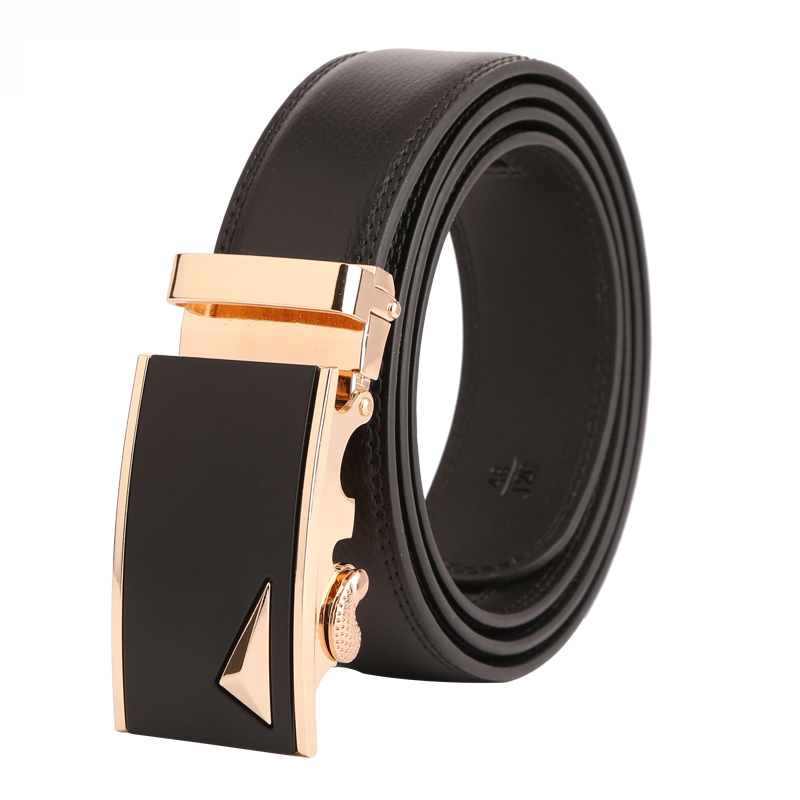 Dante Men's Genuine Leather Ratchet Belt with Sliding Buckle 35mm