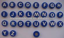 silicone magnetic sticker with letters,silicone window sticker