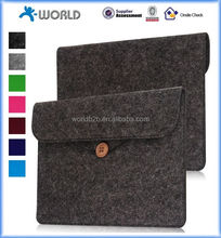 Brief Case Tablet Leather Felt Case for 2016 Kindle Oasis, woolen felt leather tablet case for kindle Oasis 2016 e-Reader