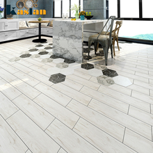 hot sale light gray wood tile grey wood grain porcelain floor tile