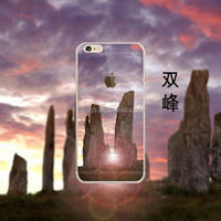 3D Personalized Custom Printed Couple Mountain Design TPU Cover for iPhone 6 Cell Phone Case