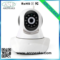 Infrared LED digital smart zoom wireless ip camera