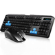 cheap gaming wireless bluetooth keyboard with mouse combo combination